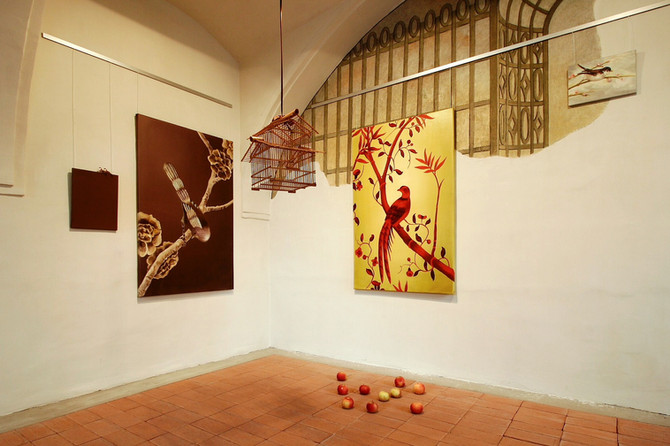 Juice Green, 2009, interior, Castlegallery, Veszprem