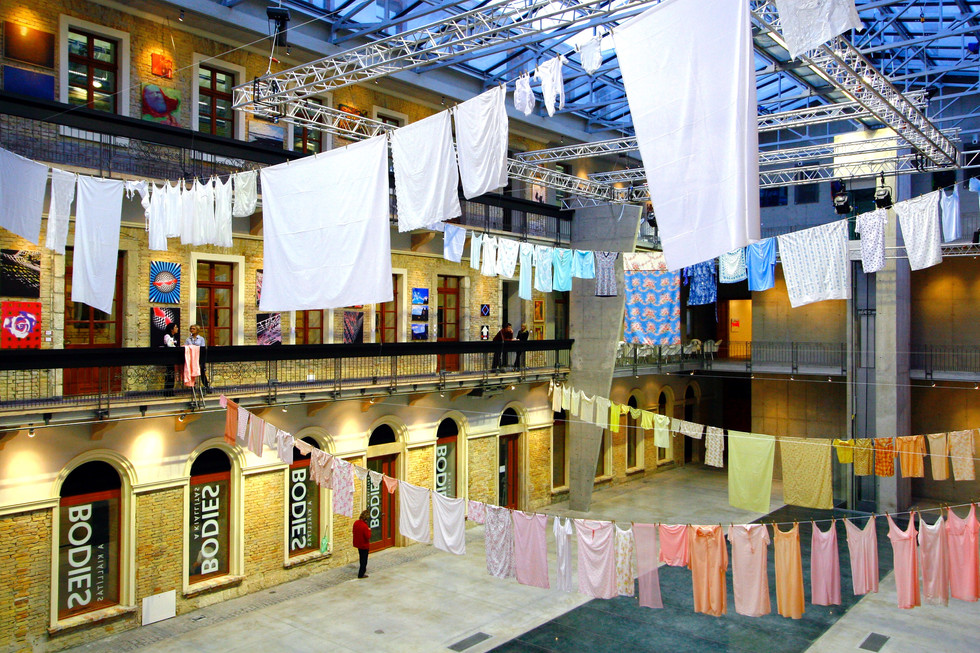 Laundry, 2008, interior, VAM Design Centre, Budapest