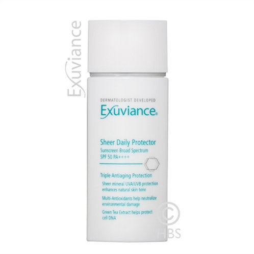 Exuviance Sheer Daily Protector spf 50+++