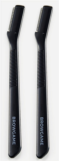 Browgame Cosmetics Eyebrow Knife Duo Pack