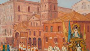 Procession À Rome