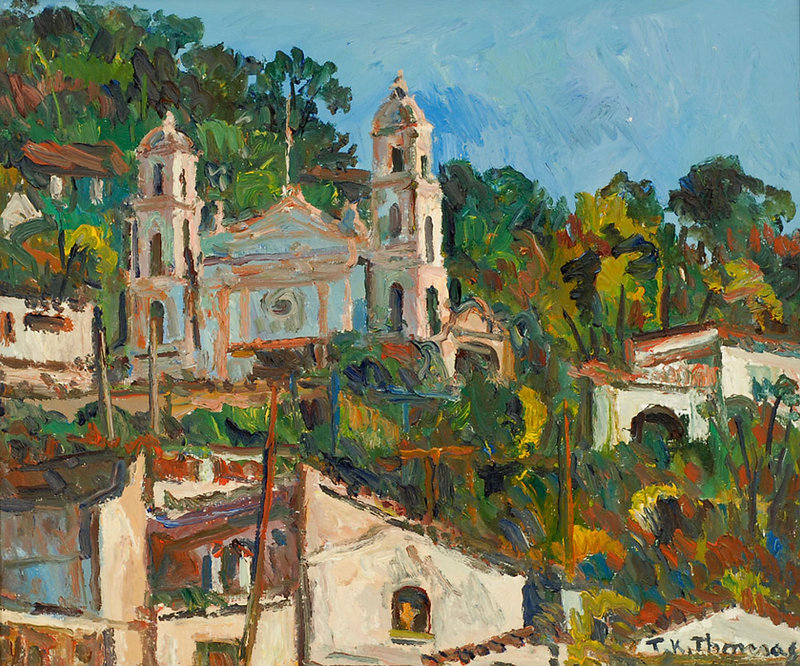 Church, Taxco