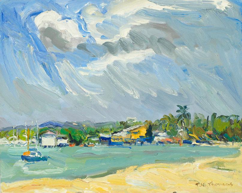 Beach at Boqueron, Puerto Rico