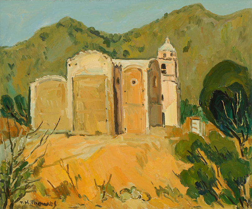 Church in the Sierra