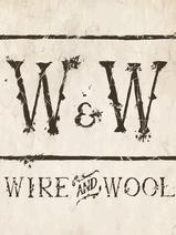 Wire & Wool Logo (Background Texture). P