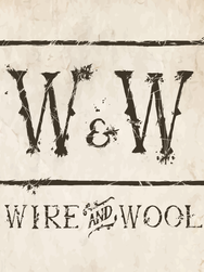 Wire & Wool Logo (Background Texture). P