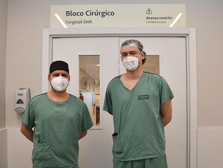 Hospital Unimed Vale do Sinos realiza importante procedimento para remoção de melanoma.