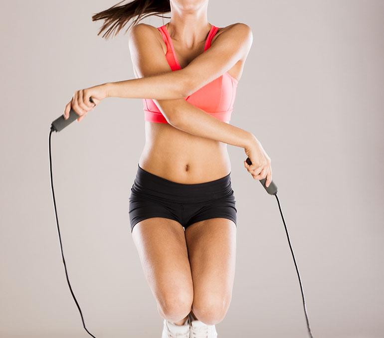 Прыжки способ похудения
