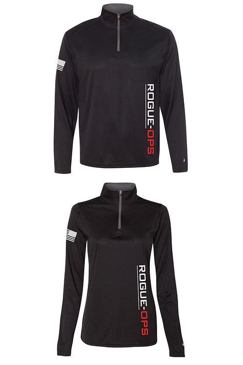 1/4 Zip Longsleeve Sport Shirt