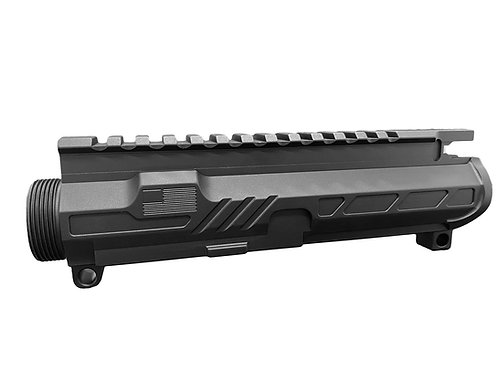 BLACK ANODIZED-AR15 UPPER RECEIVER
