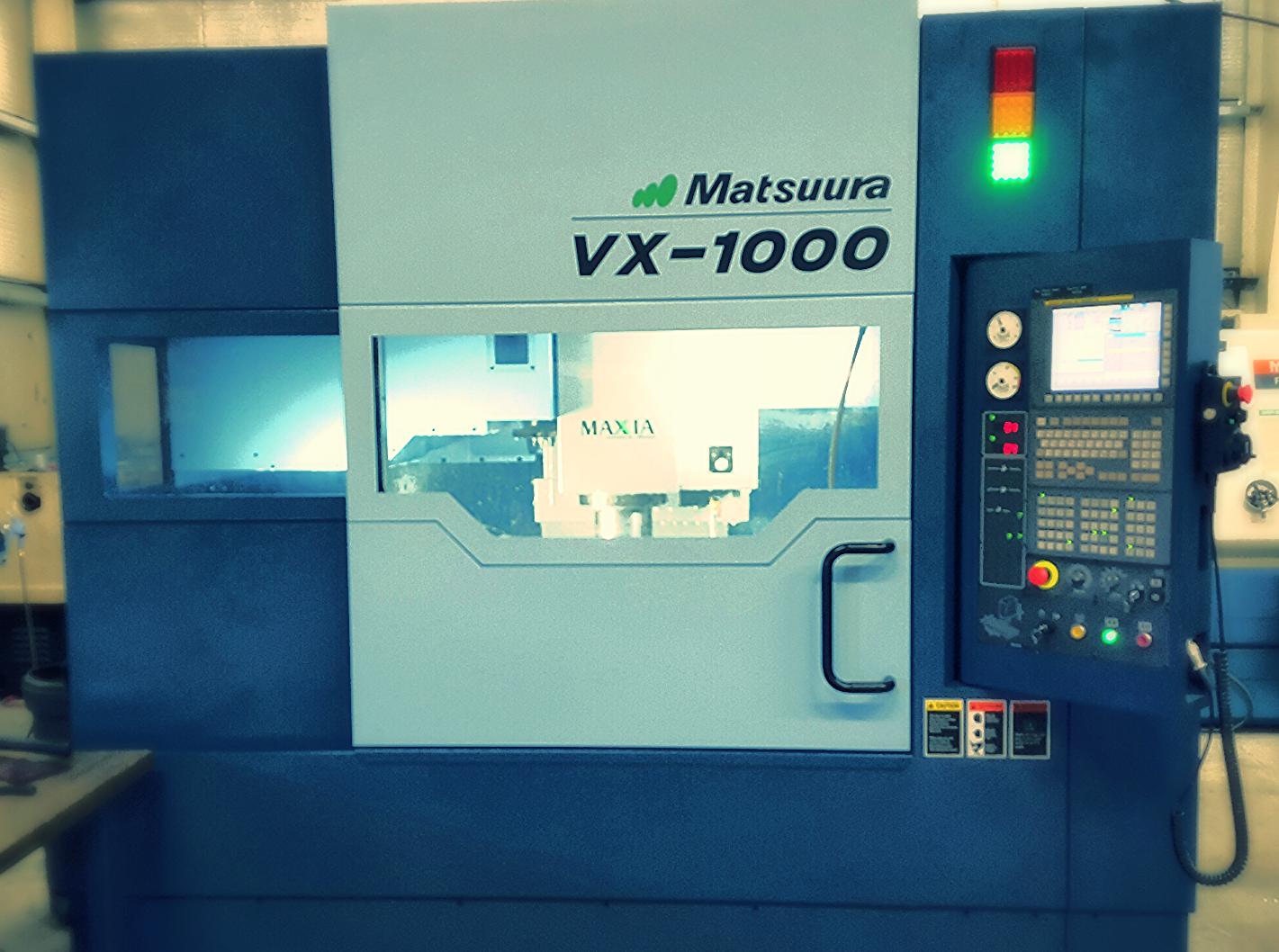 2015 Matsuura VX-1000