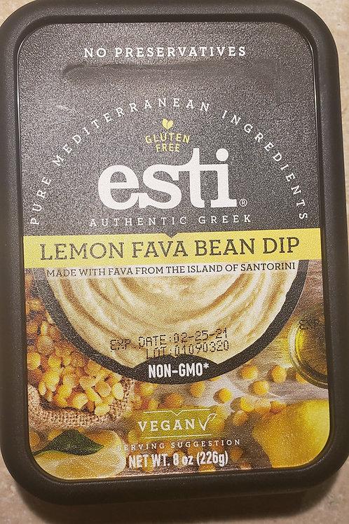 Lemon Fava Bean Hummus