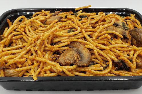 13-Spaghetti With Mushroom Tomato Sauce