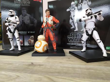 Viernes de Figuras: Poe Dameron y BB-8, y Stormtroopers