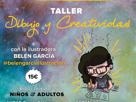 Talleres de ilustración con Belén García y Martía Latorre