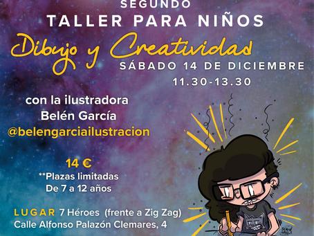 II TALLER DE DIBUJO Y CREATIVIDAD PARA NIÑOS