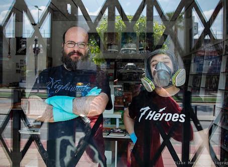 #cuarentena en 7 Héroes