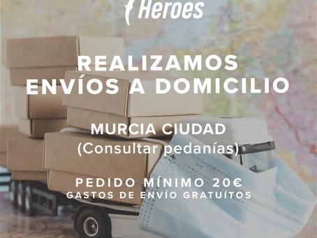 Compra on line y envíos a domicilio - CUARENTENA COVID-19