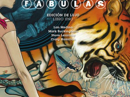 Fábulas, el cómic adulto de los personajes de los cuentos