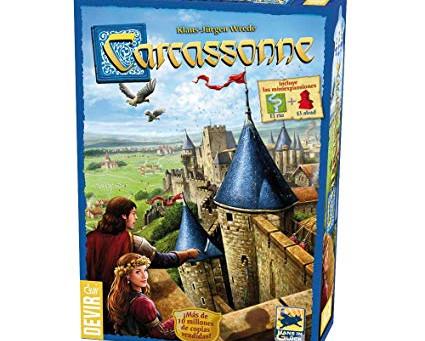 Carcassonne, el juego apto para niños que pone las cosas difíciles a los adultos