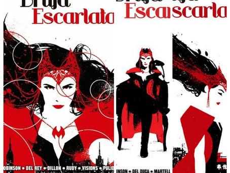 El camino hacia Wanda-Visión (4) La Bruja Escarlata. El camino de las Brujas, de James Robinson.