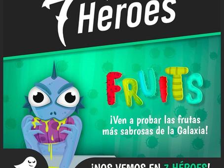 Presentación del juego FRUITS, de Sulker Games