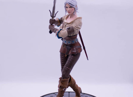 Figura de Ciri (The Witcher Wild Hunt)