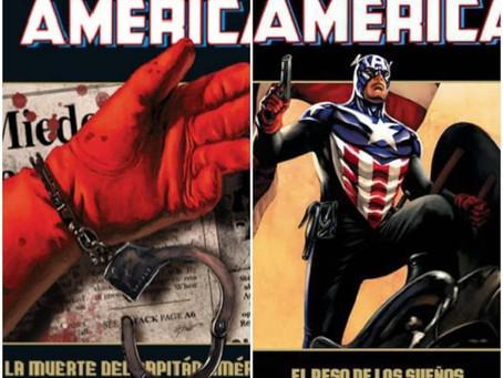 El camino del Halcón y del Soldado de Invierno: La muerte del Capitán América y El peso de los sueño