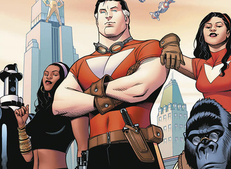 Tom Strong, de Alan Moore y Chris Sprouse