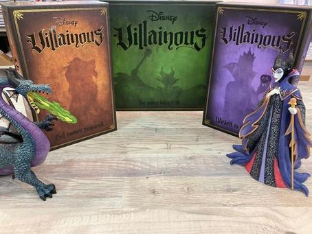 VILLANOUS: el juego de mesa de los villanos de Disney