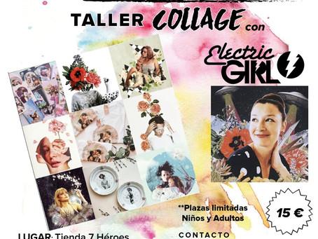 Taller de Collage con Electric Girl Collage