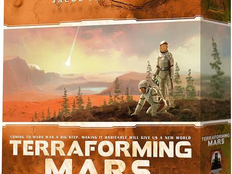 TERRAFORMING MARS, el juego de mesa