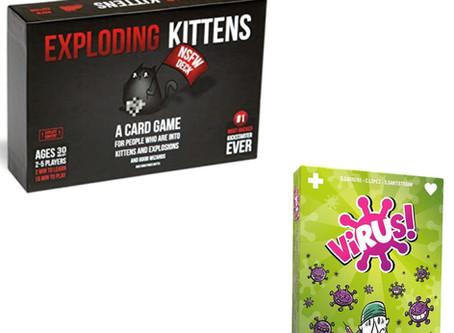 Juegos más vendidos: Virus! y Exploding Kittens NSFW