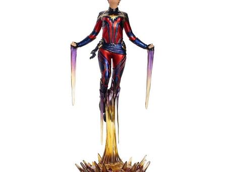 Descaje (Unboxing) Capitana Marvel Carol Danvers Iron Studios