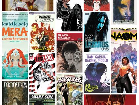Día de la mujer: Cómics recomendados