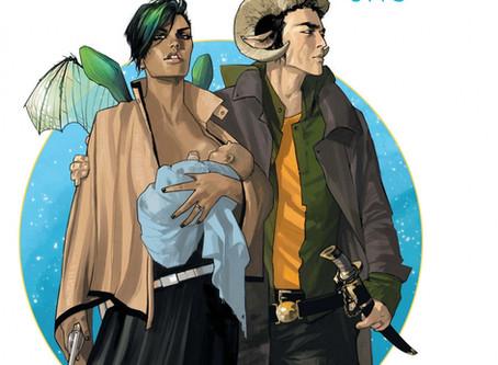 Saga, de Brian K. Vaughan y Fiona Staples