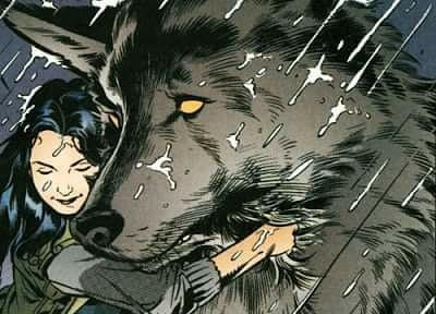 Una historia de amor:Blanca y Lobo (o Blancanieves y el Lobo Feroz). FÁBULAS.