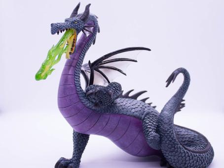 Figura de Maléfica - Dragón