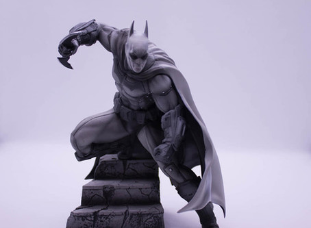 #Viernesdefiguras  Batman Black&White