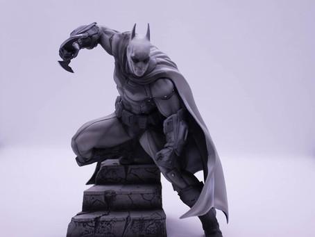 #Viernesdefiguras  Batman Black&White