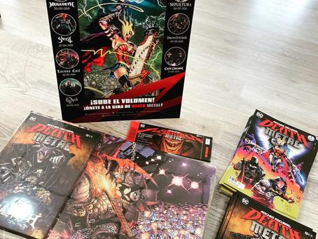DC Death Metal: comienza el tour mundial