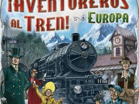 Aventureros al tren, el juego de mesa