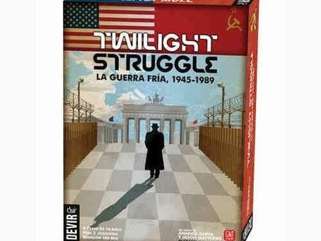 Twilight Struggle, uno de los mejores juegos para dos jugadores