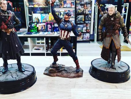Y más #viernesdefiguras: Capitán América, Geralt, Regis el vampiro