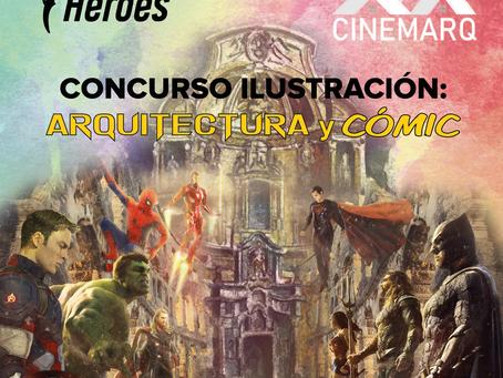 CONCURSO DE ILUSTRACIÓN: Arquitectura y cómic en Murcia