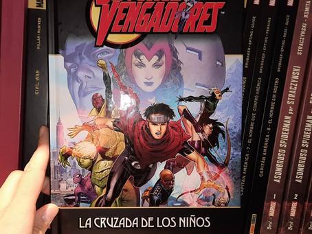 El camino hacia Wanda-Visión (3)Jóvenes Vengadores: La cruzada de los niños, de Allan Heiberg y Jim