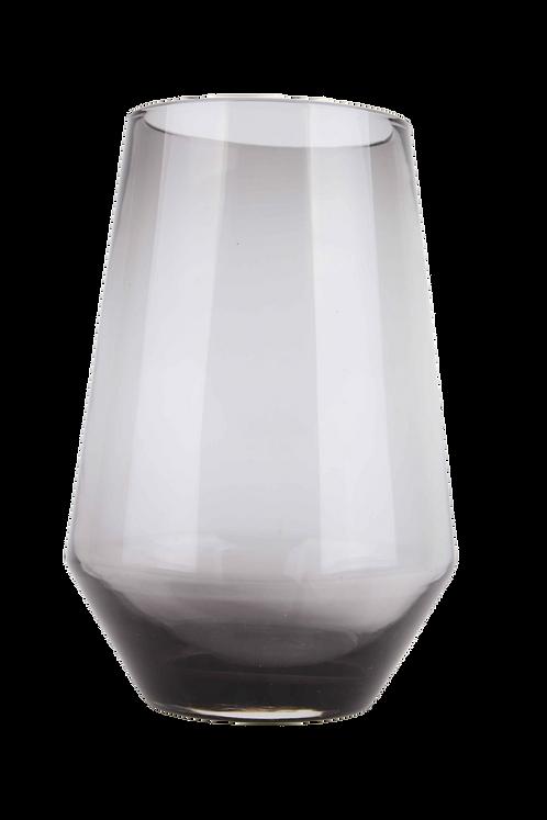 Florero Cristal Color Plomo