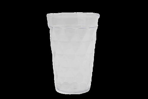 Set 4 Vasos Cortos Plásticos