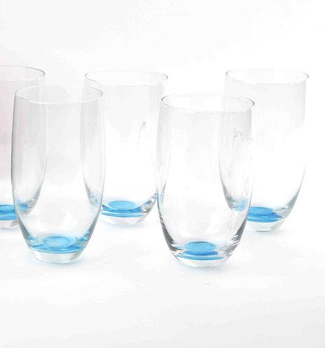 Set De Vasos Azul Altos