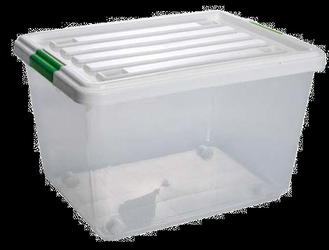 Caja Duralon 34 Litros Con Ruedas